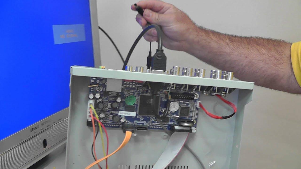 Как сделать hard reset видеорегистратор