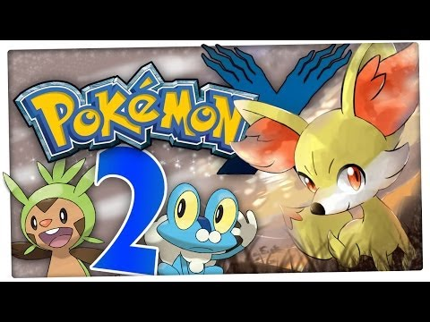 Let's Play Pokemon X Part 2: Supertraining