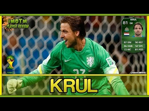 FIFA 14 UT - iMOTM Krul    World Cup iMOTM Ultimate Team 81 Player Review + In Game Stats