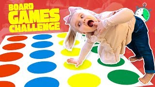 Crazy Board Game Challenge for KIDS! Catch the Fox, Twister & Don't Step in It!