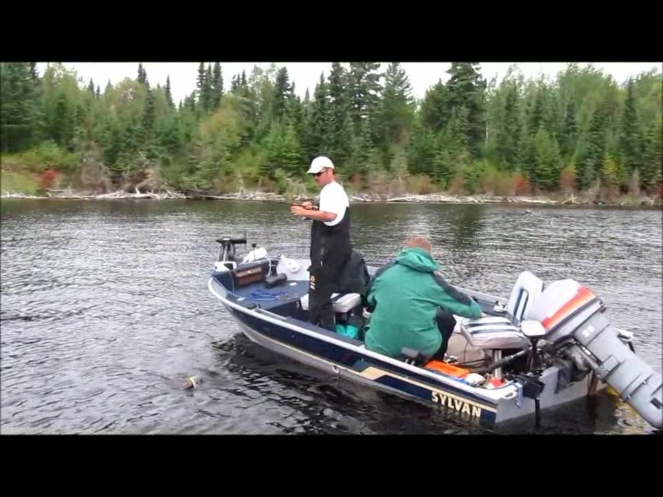 Walleye fishing ontario canada red lake youtube for Walleye fishing in canada