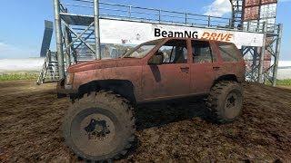 BeamNG Drive Alpha 1994 Jeep Grand Cherokee Trail Ready
