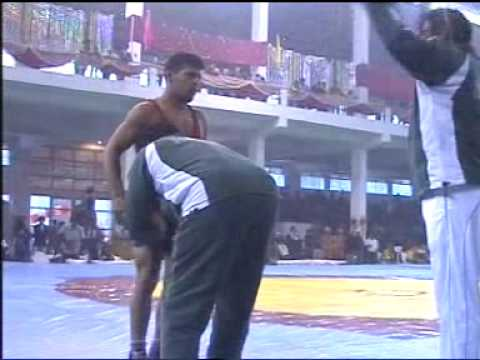 PAKISTANI WRESTLER MUHAMMAD SALMAN PEHLAWAN WINS BRONS MEDAL IN COMMONWEALTH WRESTLING 2009 IN INDIA