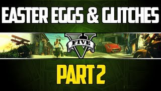 GTA 5 Easter Eggs And Secrets Compilation 2: CJ, Master