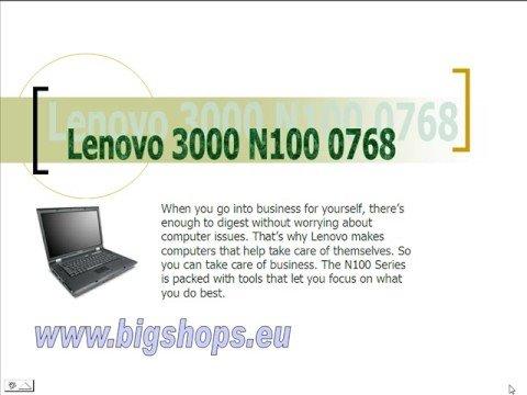 Lenovo 3000 N100 Drivers Download Xp