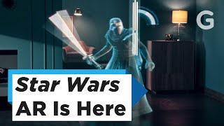 New Star Wars Augmented Reality Game Lets You Become a Jedi Master