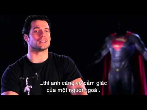 Man Of Steel _ Người Đàn Ông Thép _ Phỏng vấn Henry Cavill ( Clark Kent )