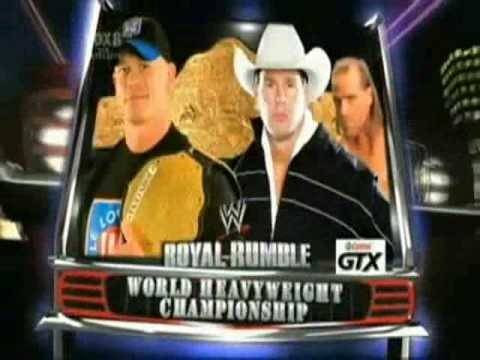 WWE Royal Rumble 2009 - Promo - Match Card - YouTube
