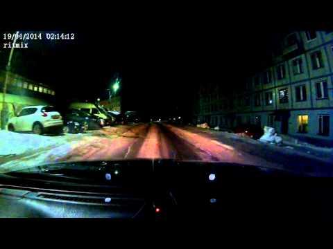 Метеорит над Мурманском meteorite Murmansk 19.04