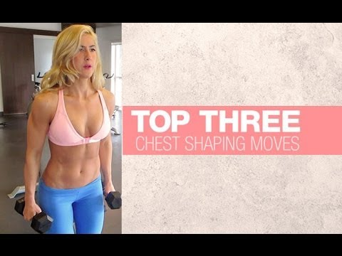 How To Lift Breasts Naturally (Chest Workout for Women!!)