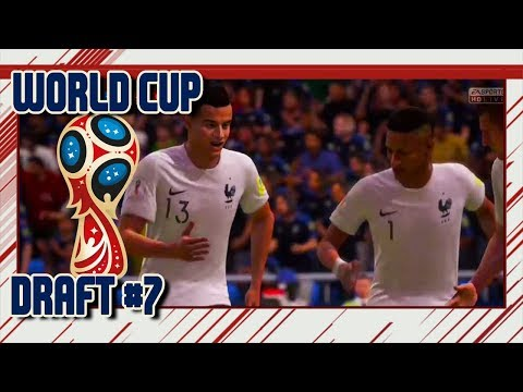 FIFA 18 - World Cup - Draft #7 & Pack Opening