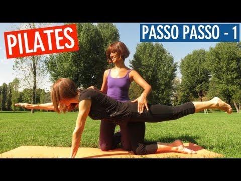 Lezione di Pilates - Esercizi Spiegati Passo Passo (Parte 1)