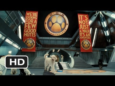Cats & Dogs: The Revenge of Kitty Galore #2 Movie CLIP - Welcome to Dog HQ (2010) HD