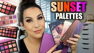 "WHICH IS BEST? ""Sunset"" Eye Palettes"