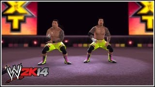 WWE 2K14 Jimmy & Jey, The Usos Make Their Way To The