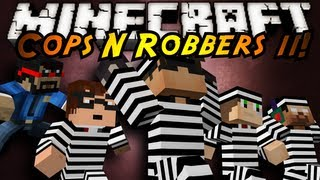 Minecraft Mini-Game : COPS N ROBBERS 3.0 ROUND ELEVEN!