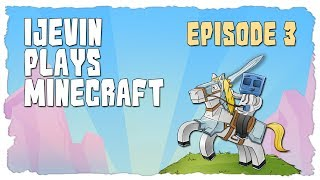 iJevin Plays Minecraft: Caving Story Time! (Ep. 3)