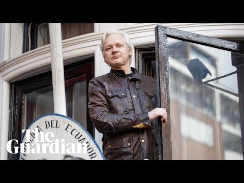 Six years spying on Julian Assange: Pamela Anderson, superfans and boiled sweets