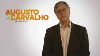 Augusto Carvalho luta pela saúde no Gama-DF