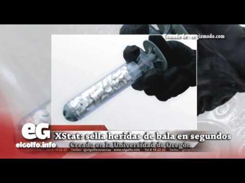 XStat: sella heridas de bala en segundos @elgolfoveracruz #CienciaTecnología