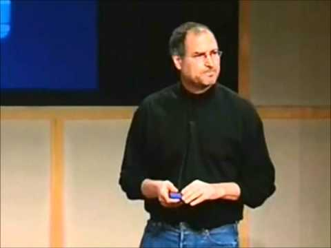 Steve Jobs' Best Video Moments on Stage (Part 1/3)