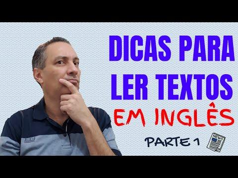 Dicas para ler textos em inglês