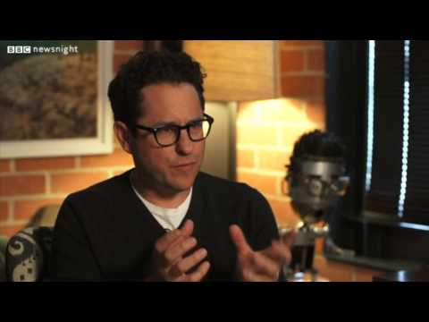 Neil Gaiman meets JJ Abrams for Newsnight Long version