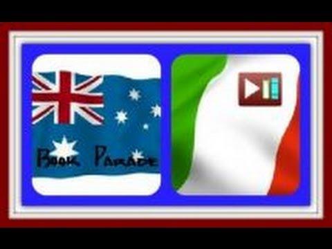 Book Parade 30.9.2013 Italia/Australia
