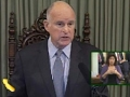 Gov. Jerry Brown Hits Trump in Annual Address