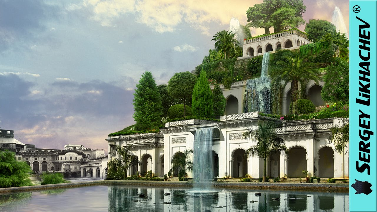 Pictured: the real site of the Hanging Gardens of Babylon - Telegraph Babylonian hanging garden pictures