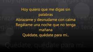 Alejandra Guzman Para Mi Lyrics/Letra