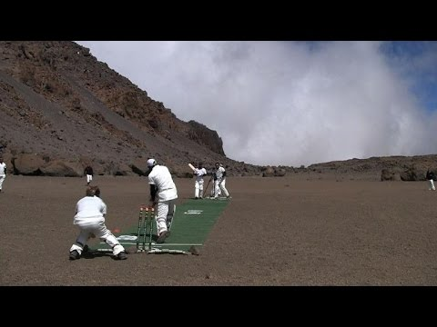 New cricket match altitude record set on 'roof of Africa'