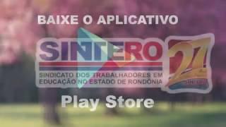 Aplicativo do SINTERO 2017 - Secretaria de imprensa