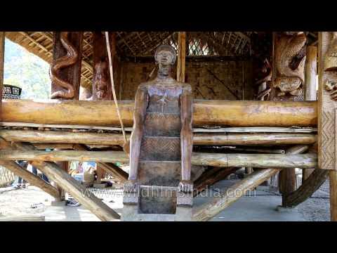 Fine crafts seen at Garo Nokpante, Naga Heritage