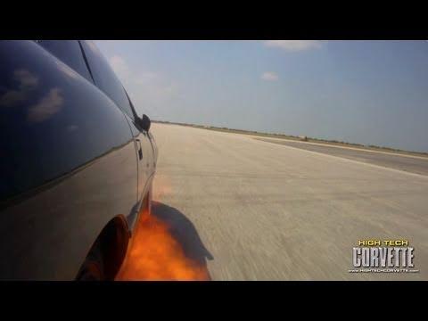 243mph Camaro - ON FIRE