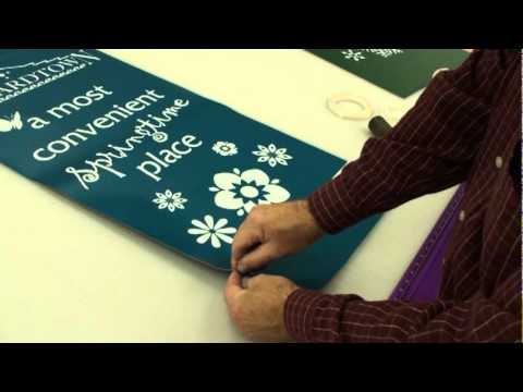 Pole Banners - How It's Made at Barefoot Graphics - YouTube, Barefoot Graphics shares how they print and manufacture high quality, heavy-duty pole banners.