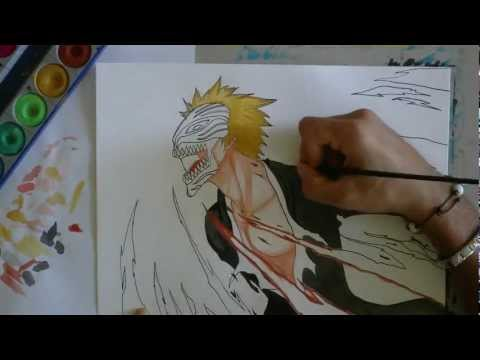 How to draw Ichigo Hollow -Bleach-