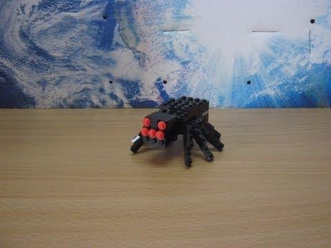 Lego minecraft skeleton tutorial