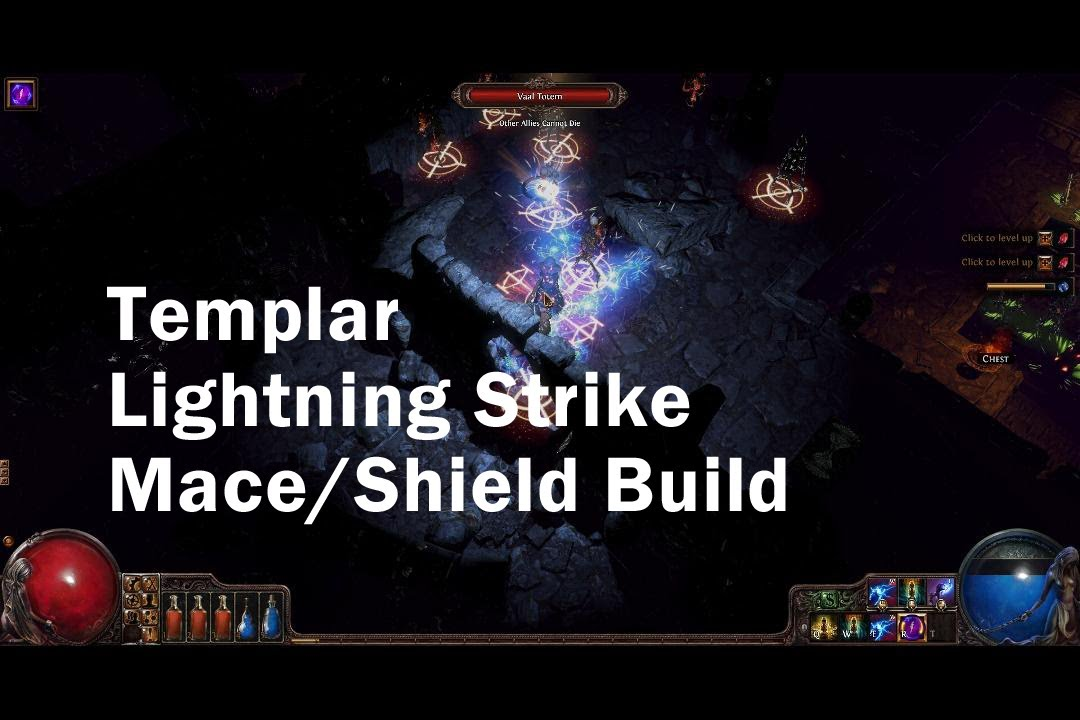 Poe Lightning Strike Build Templar