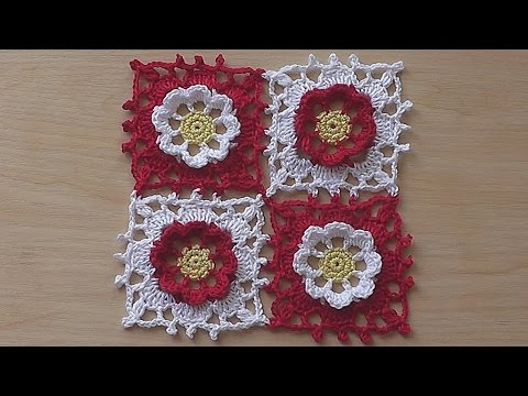 CROCHET How to join granny squares