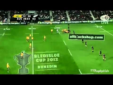 All Blacks vs Wallabies Bledisloe Cup - Game 3 2013