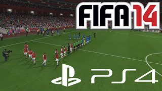 FIFA 14 Playstation 4 Gameplay Arsenal London Vs