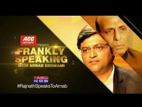 Frankly Speaking with Rajnath Singh - Part 1