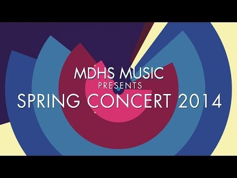 Vehicle - Monday Morning Blues Band - MDHS Spring Concert 2014