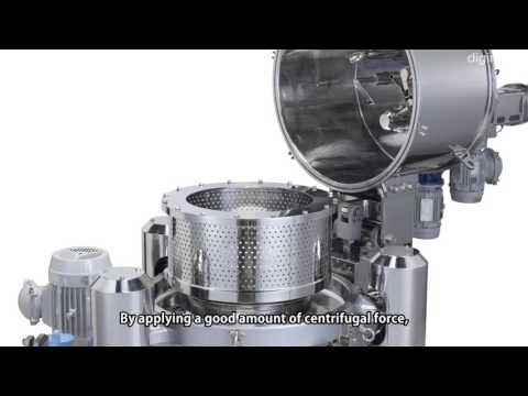 Centrifuge with Dramatically Improved Filtration Efficiency