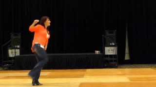 Blurred Lines Line Dance Demo @JG20