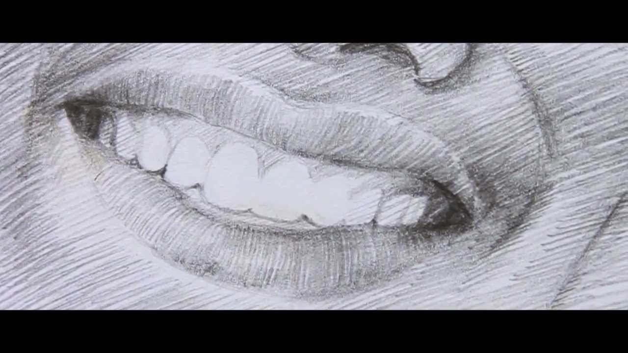 NipanArt:2: How to draw mouth with teeth - YouTube