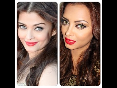 Aishwarya Rai Cannes Film Festival Red Carpet Makeup
