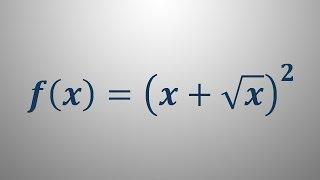 Odvod funkcije – primer 3