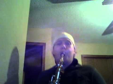 Improvised 12 Bar Blues on Alto Saxophone
